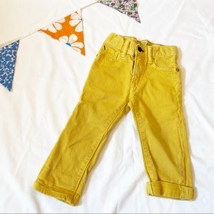 Yellow Baby Gap Jeans Size 18-24 Months